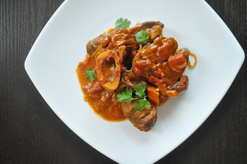 curried grass-fed beef shanks