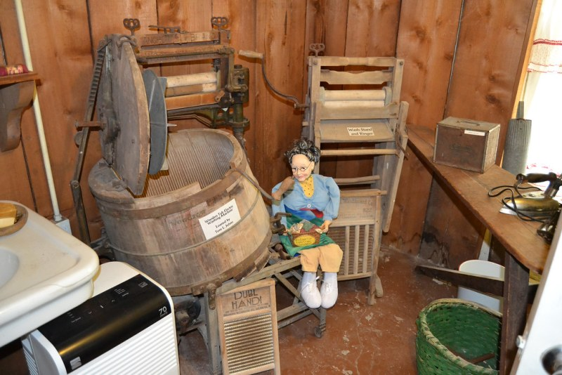 Visiting the Logan County Museum