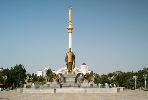 Turkmenbashi statue, Ashgabat