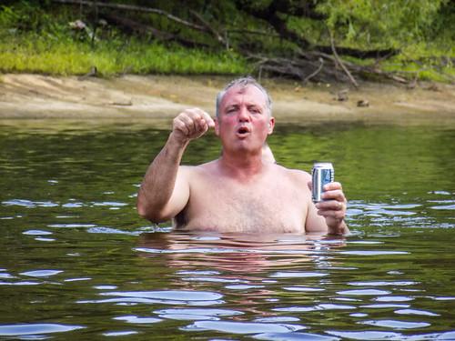 Edisto River Beer Commercial and Rope Swing Float-30