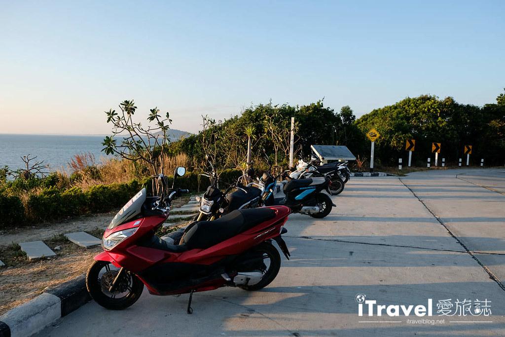 《沙美岛景点推介》西岸夕阳景点巡礼:租赁摩托车南北贯穿奔驰,连续造访三个日落景点