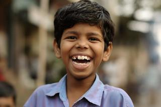 Faces on the Street in Mumbai