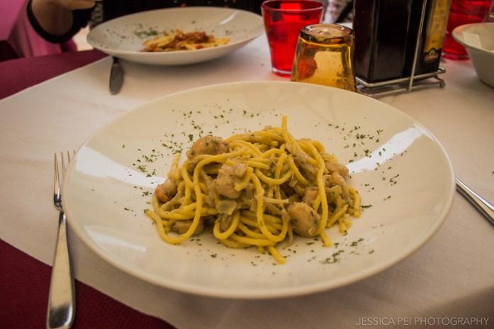 Scallop Pasta Verona