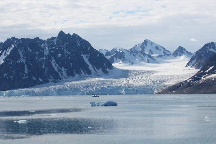 Monacobreen Glacier, Svalbard, Arctic