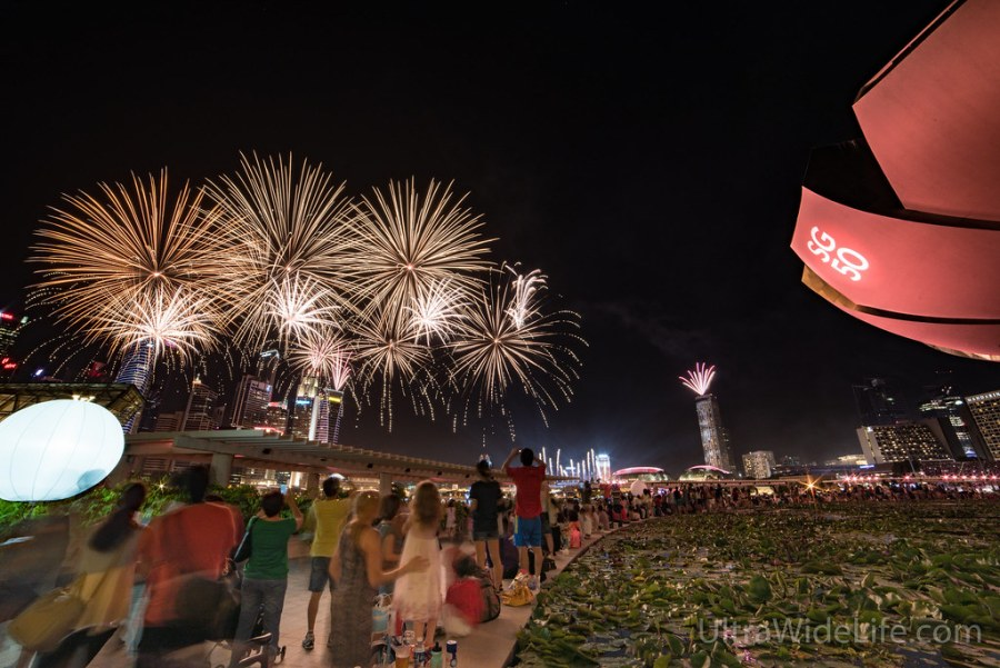 National Day preview - fireworks
