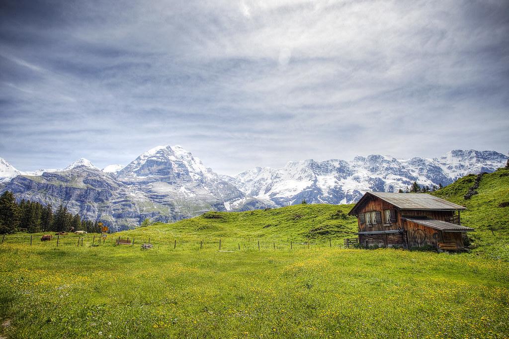 Murren, Switzerland.