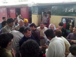 Welcome Sain Sadhram Sahib at Pooj Raherki Sahib (10)