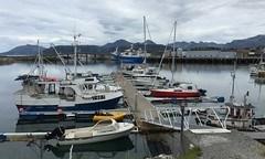 Klar for avgang fra Sommarøy havn