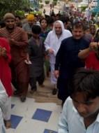 Welcome Sain Sadhram Sahib at Pooj Raherki Sahib (5)
