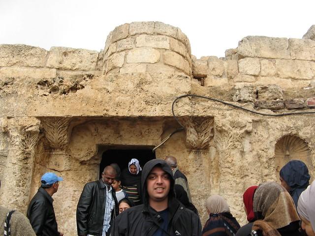 Zaid outside sleepers cave