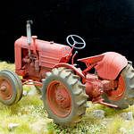 Case VAI tractor, 1/35