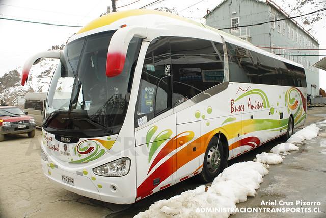 Buses Amistad - Sewell - Irizar Century / Scania (FFZZ52)