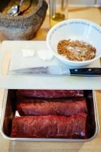 Roe deer venison with juniper sauce