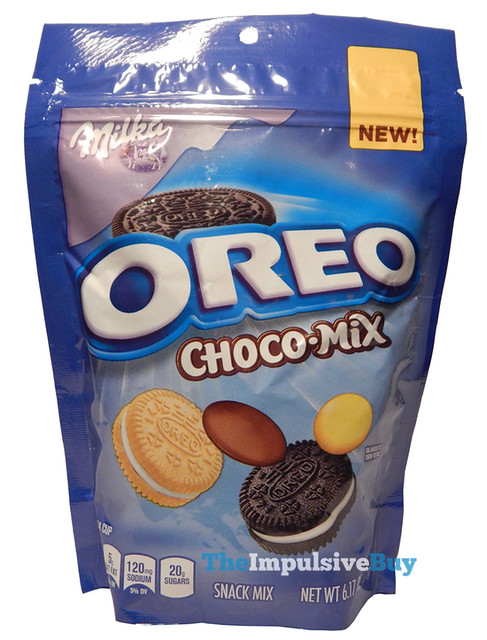 Milka Oreo Choco-Mix Snack Mix