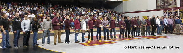 Members of Minnesota's 2007 National Championship Team