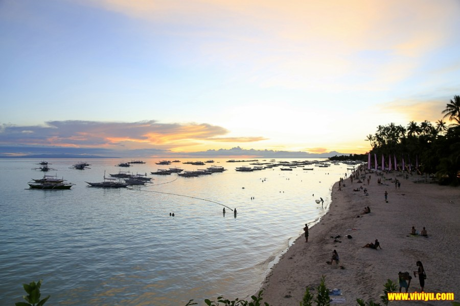 [薄荷島·旅遊]Alona beach海灘&Amorita resort晚餐~品嚐度假村裡的美味自助餐,浮淺欣賞海底美景,海灘上的夜生活也是相當精彩,待在這裡一整天都過得很充實 @VIVIYU小世界