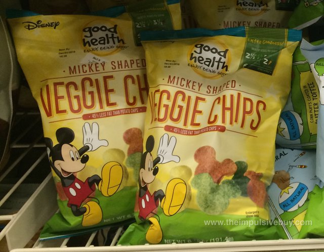 Good Health Disney Mickey Shaped Veggie Chips