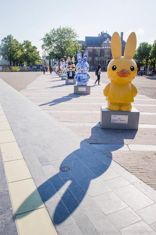 Miffy Bunnies Museumplein Amsterdam