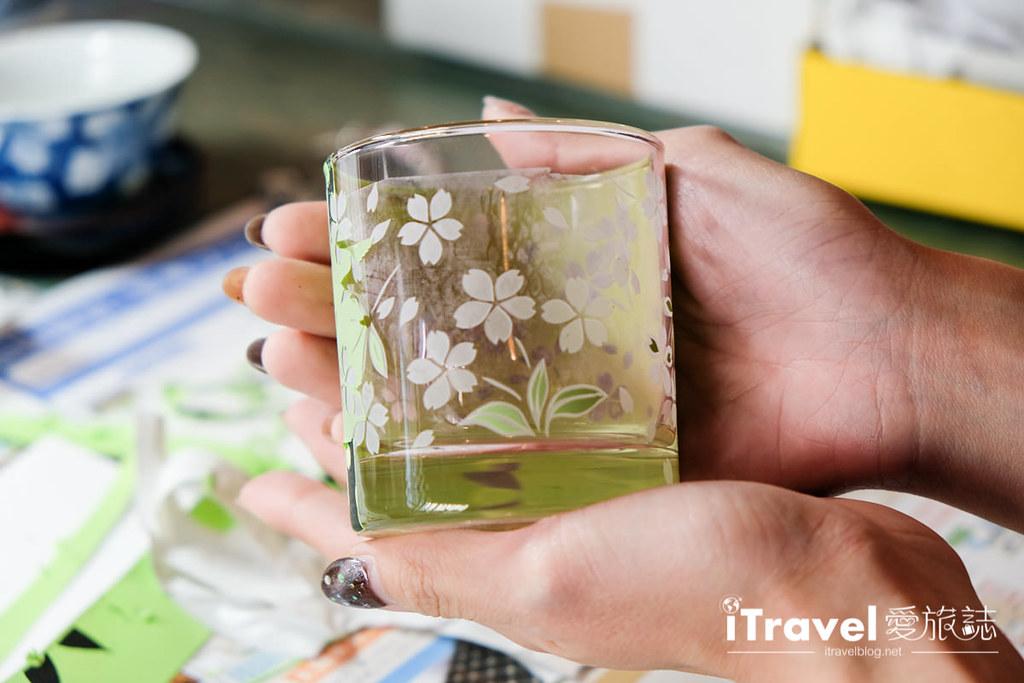 东京手作课程 喷砂玻璃工艺体验 53