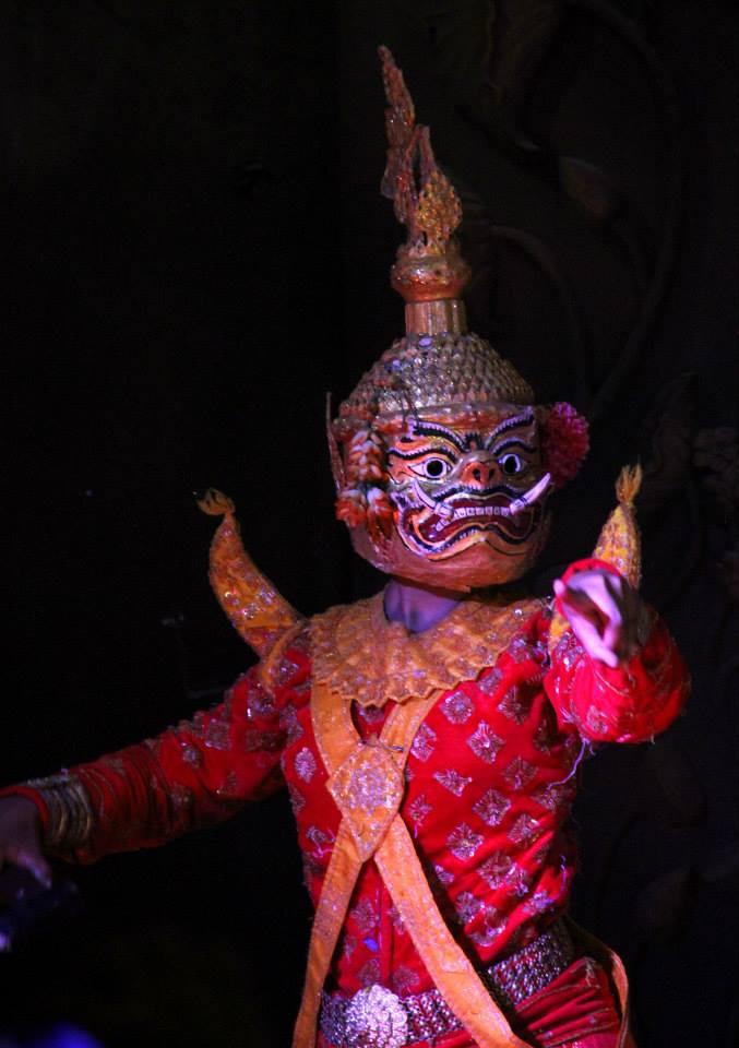 Apsara dance depict Hindu mythological stories