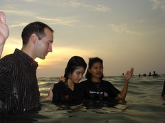 Baptism Service by Michael Sarver