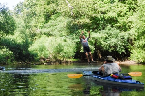 Edisto River Beer Commercial and Rope Swing Float-055