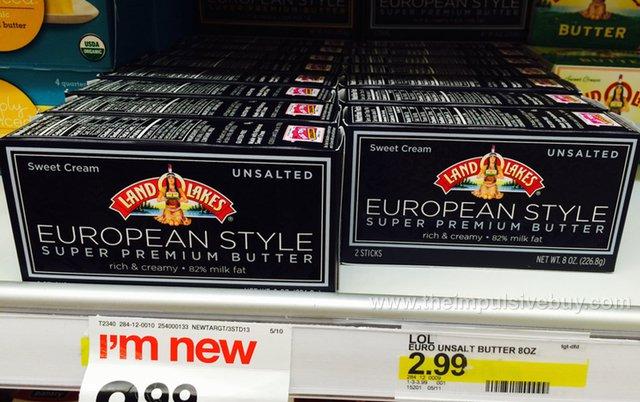 Land O Lakes European Style Super Premium Butter