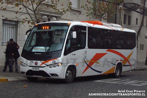 VTS Enjoy Travel - Santiago - Marcopolo Senior / Mercedes Benz (CKRB24)