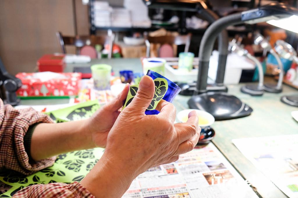 东京手作课程 喷砂玻璃工艺体验 25