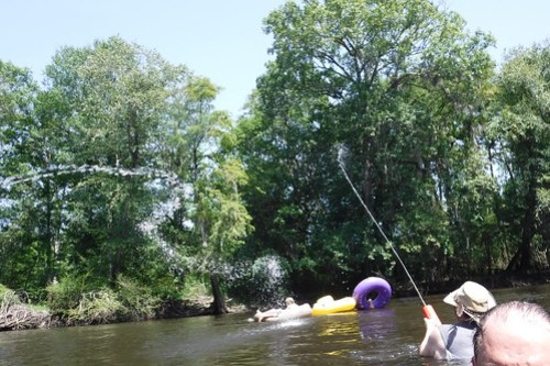 Edisto River Beer Commercial and Rope Swing Float-40
