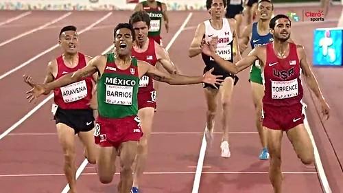 Juan Luis Barrios oro en 5 mil Toronto 2015