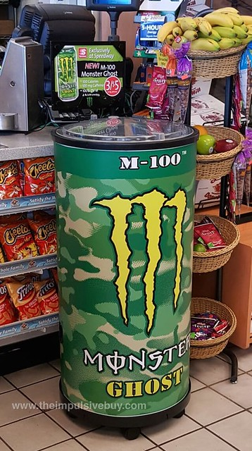 Monster M-100 Ghost Energy Drink