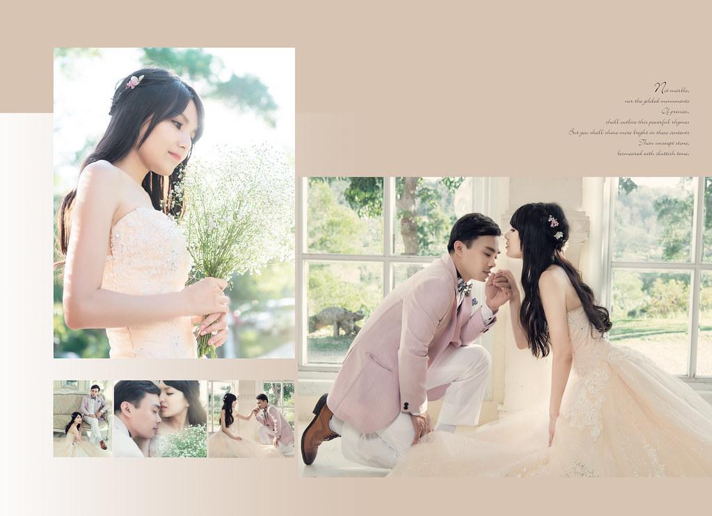 建勛&昀佑風格婚紗