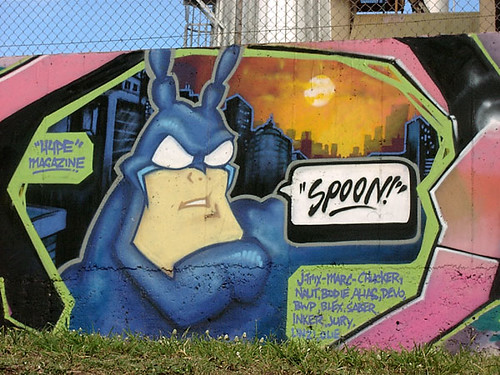 spoon graffiti