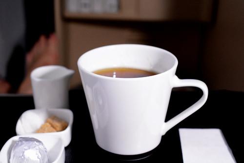 機内食コーヒー