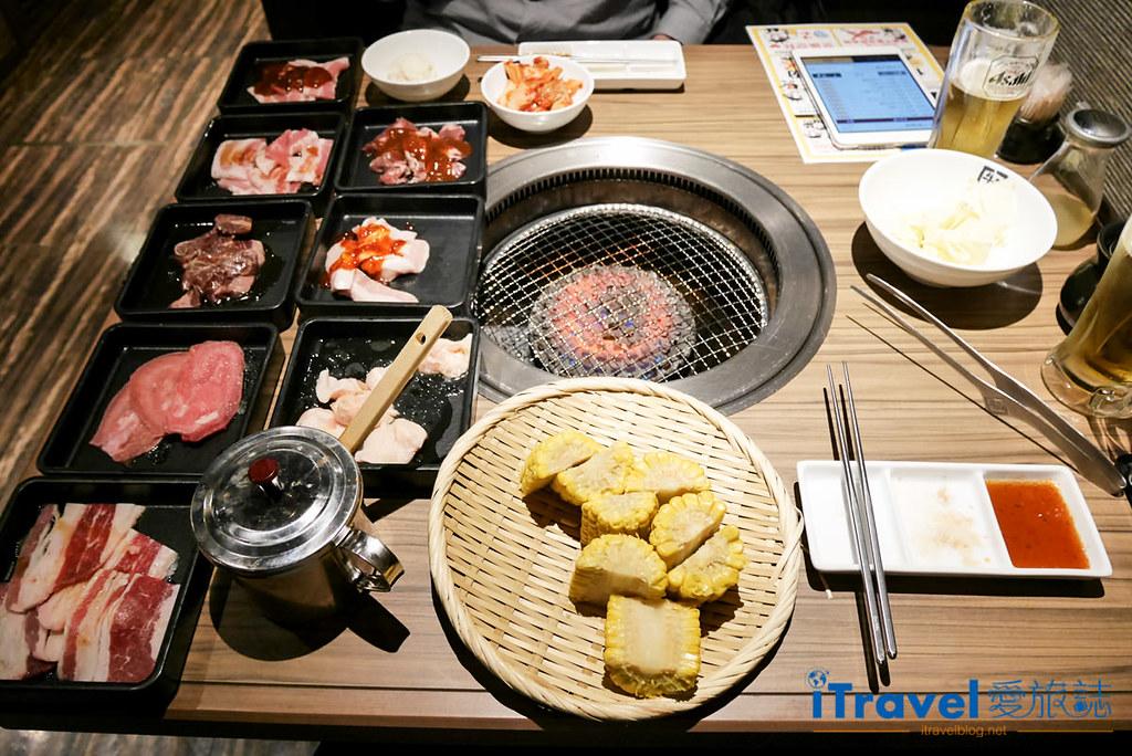 京都牛角燒肉四條河原町店:iPad中文輔助點餐吃到飽 - 愛旅誌