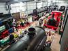 Inside Highley Engine Shed