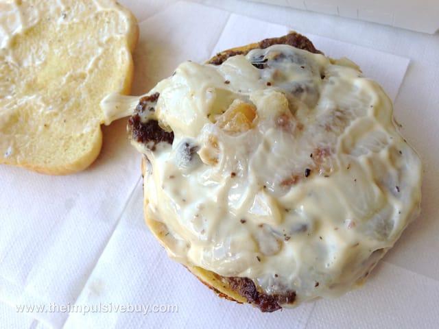 Jack in the Box Portobello Mushroom Buttery Jack 2