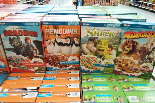 Mom Brands DreamWorks Cereals