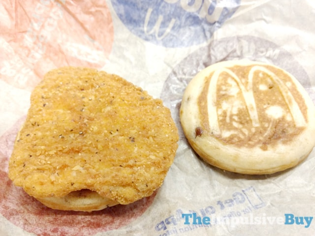 McDonald's Chicken McGriddle 2