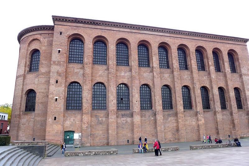 A la découverte de Trier (Allemagne) - 081 - Konstantin Basilika