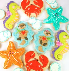 Sea creature baby shower