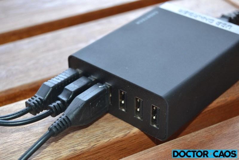 CHOETECH 6 Port Multi USB Charger  (6)