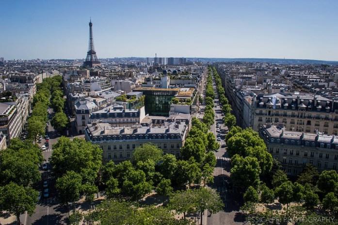 Eiffel Tower Arc de Triomphe