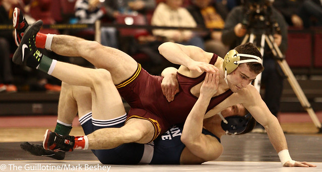 157 #1 Jason Nolf (Penn State) fall #9 Jake Short (Minnesota) 3:44