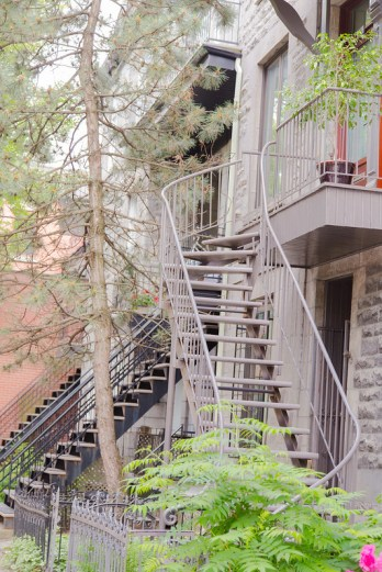 Outdoor Staircases - Montreal