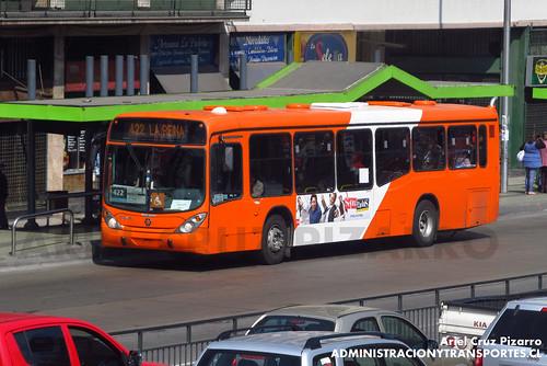 Transantiago - Express de Santiago Uno (U4) - Marcopolo Gran Viale / Scania