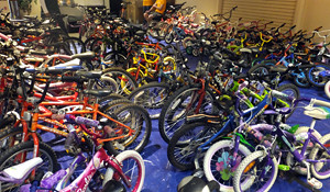 2015 24 APC sea of donated bikes_300