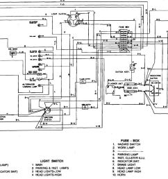 gravely 816 headlight wiring diagram [ 1406 x 851 Pixel ]