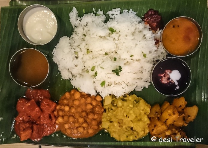 Vegetarian Thali Singapore